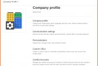 Business Profile Example  – Elsik Blue Cetane with regard to How To Write Business Profile Template