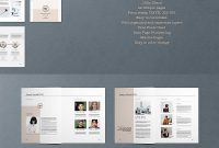 Business Proposal Template  Brochure Templates  Business Proposal with regard to Business Plan Template Indesign
