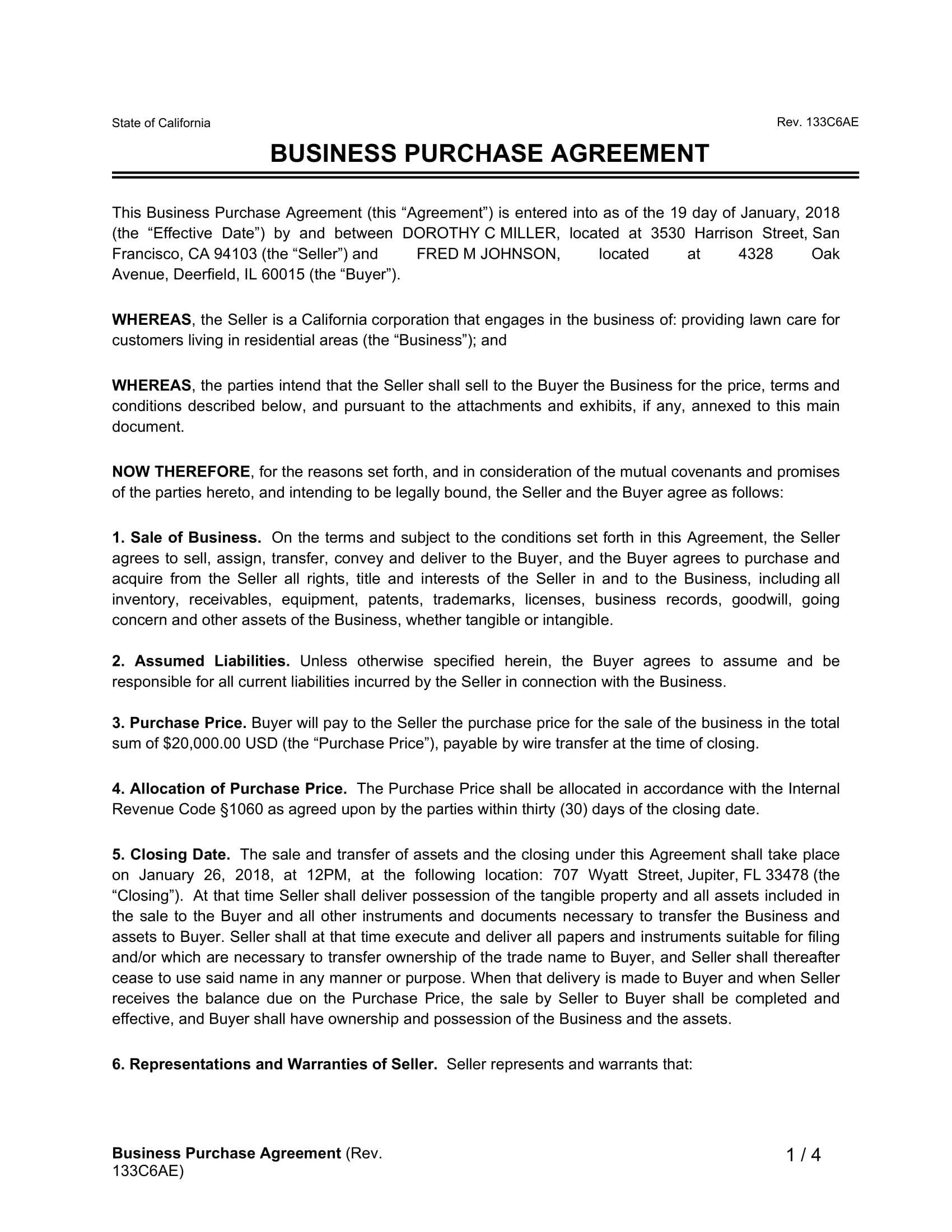 Business Purchase Agreement Template Free Uk Small And Templates Within Free Business Transfer Agreement Template