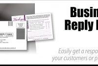 Business Reply Mail  Print  Copy Factory  Pcfwebsolutions throughout Usps Business Reply Mail Template