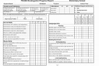 Business Report Card Template Fresh Student Progress Example throughout Report Card Format Template