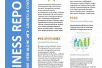 Business Report Templates  Format Examples ᐅ Template Lab regarding Company Report Format Template