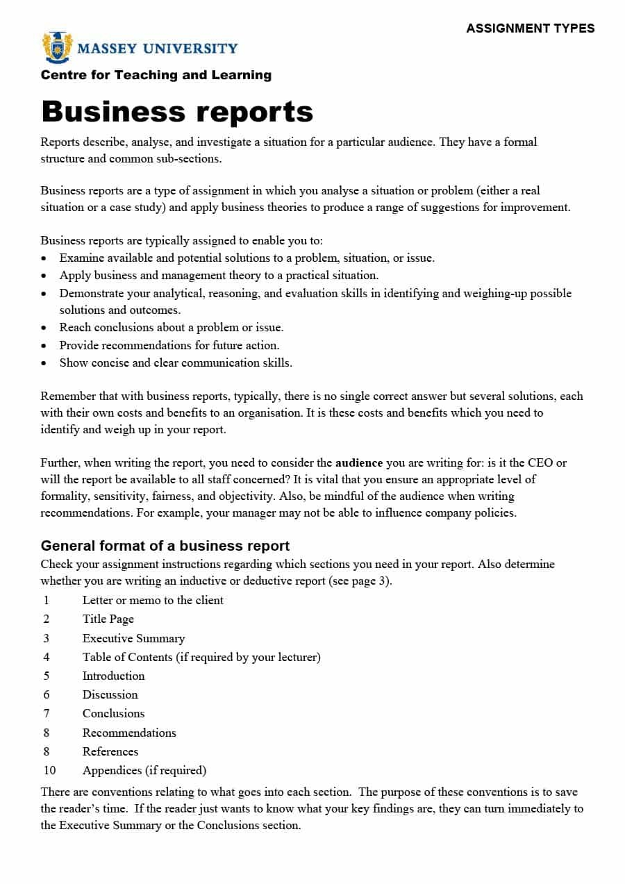 Business Report Templates  Format Examples ᐅ Template Lab Within Company Report Format Template