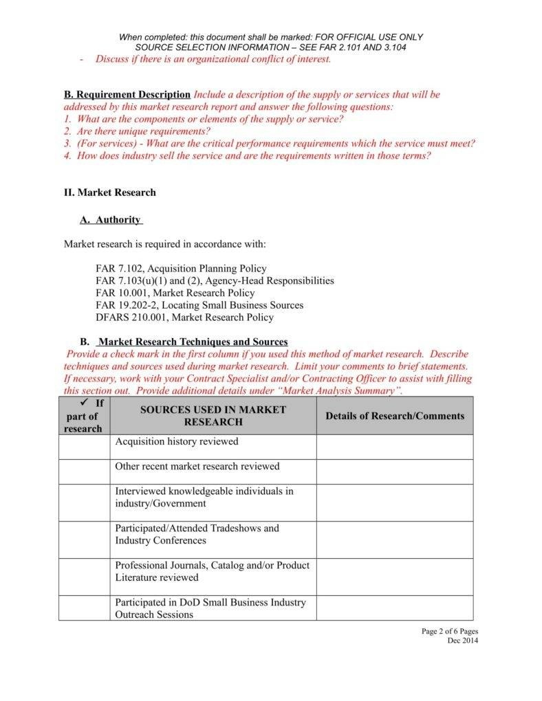 Business Reports Template  Docs Word Pages  Free  Premium Within Market Research Report Template