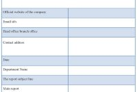 Business T Template Word Customer Visit Free Download My Best regarding Customer Visit Report Template Free Download