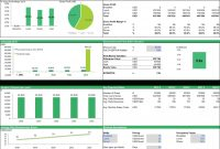 Cafe Business Plan Financial Model Excel Template  Finance regarding Business Valuation Template Xls