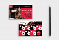 Cafe Loyalty Card Template In Psd Ai  Vector  Brandpacks pertaining to Loyalty Card Design Template