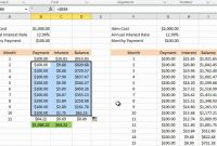 Calculating Credit Card Payments In Excel   Youtube regarding Credit Card Interest Calculator Excel Template