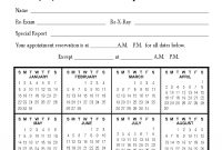 Calendar Appointment Cards – Chiromania regarding Chiropractic Travel Card Template