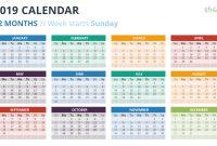 Calendar Powerpoint Templates in Microsoft Powerpoint Calendar Template