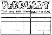 Calendar Template For Kids  Free Calendar Collection with Blank Calendar Template For Kids