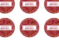 Canning Label Template  Merriment Design throughout Canning Labels Template Free