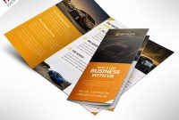 Car Dealer And Services Trifold Brochure Free Psd  Psdfreebies with regard to 3 Fold Brochure Template Psd Free Download