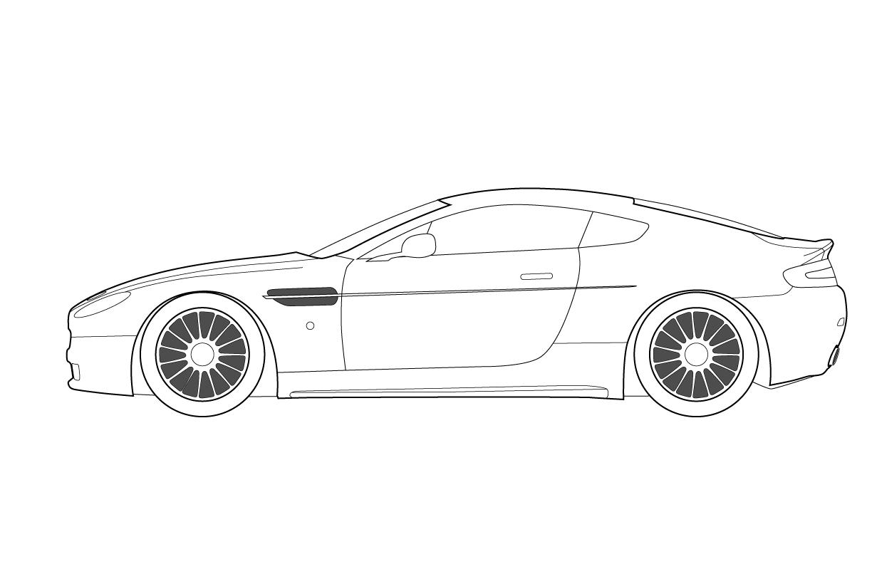 Car Template Printable  Race Car Racing Auto Formula  One Le Mans In Blank Race Car Templates