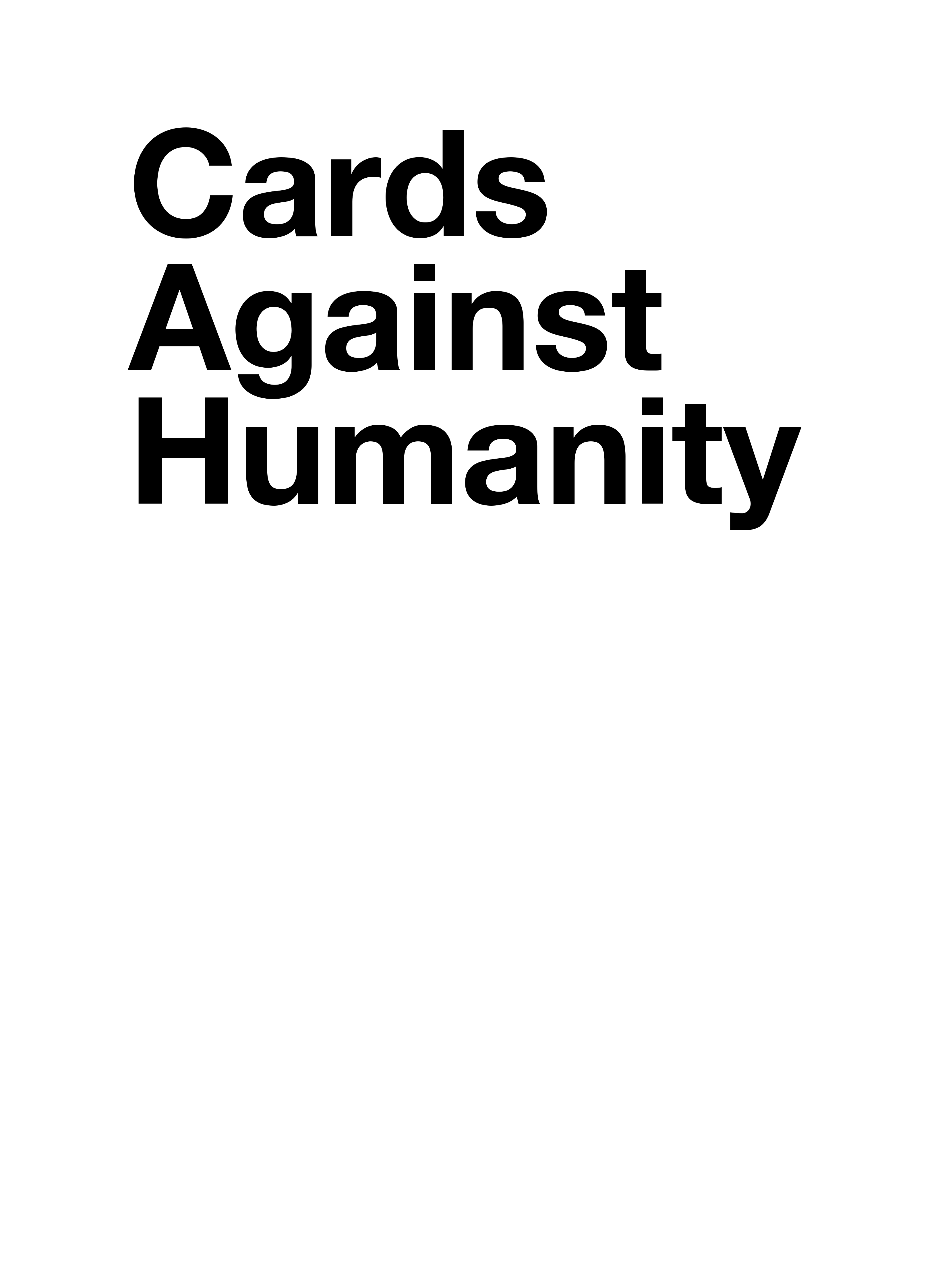 Cards Against Humanity  Card Generator Throughout Cards Against Humanity Template