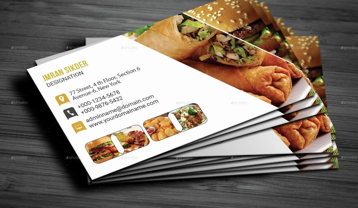 Catering Business Cards Best Of Restaurant Business Cards Templates In Restaurant Business Cards Templates Free