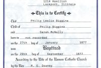 Catholic Baptism Certificate  Yahoo Image Search Results  Free within Baby Christening Certificate Template