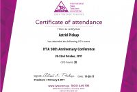Certificate Examples  Simplecert with regard to Conference Participation Certificate Template