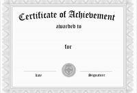 Certificate Of Achievement Template Free Marvelous Free Soccer Award for Soccer Certificate Templates For Word