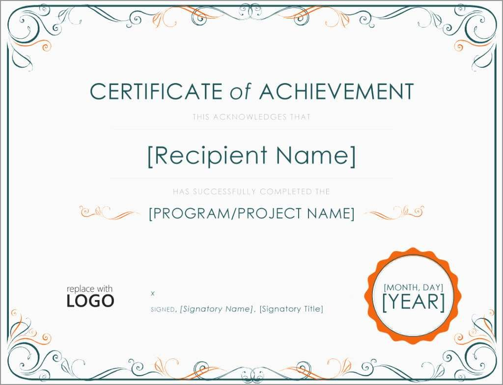 Certificate Of Achievement Template Free Marvelous Free Soccer Award With Regard To Soccer Certificate Template Free