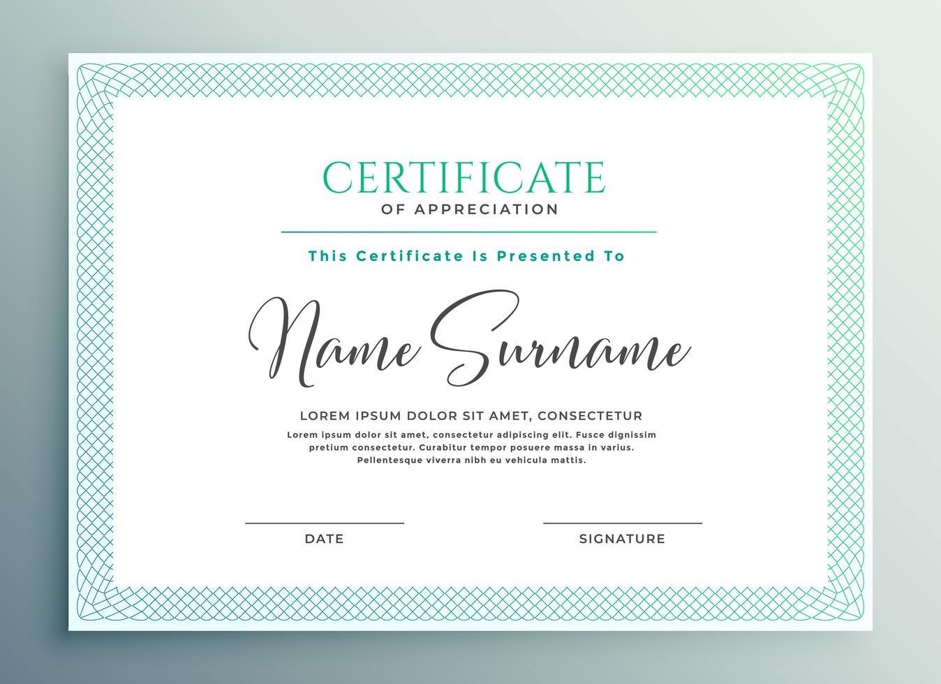 Certificate Of Appreciation Template Download  Templates Study Intended For Certificate Of Appreciation Template Doc