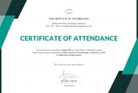 Certificate Of Attendance Template – Gotemplates regarding Certificate Of Attendance Conference Template
