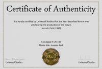 Certificate Of Authenticity Template  Katieroseintimates inside Photography Certificate Of Authenticity Template