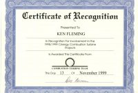 Certificate Of Recognition Word Template  – Elsik Blue Cetane for Certificate Of Recognition Word Template