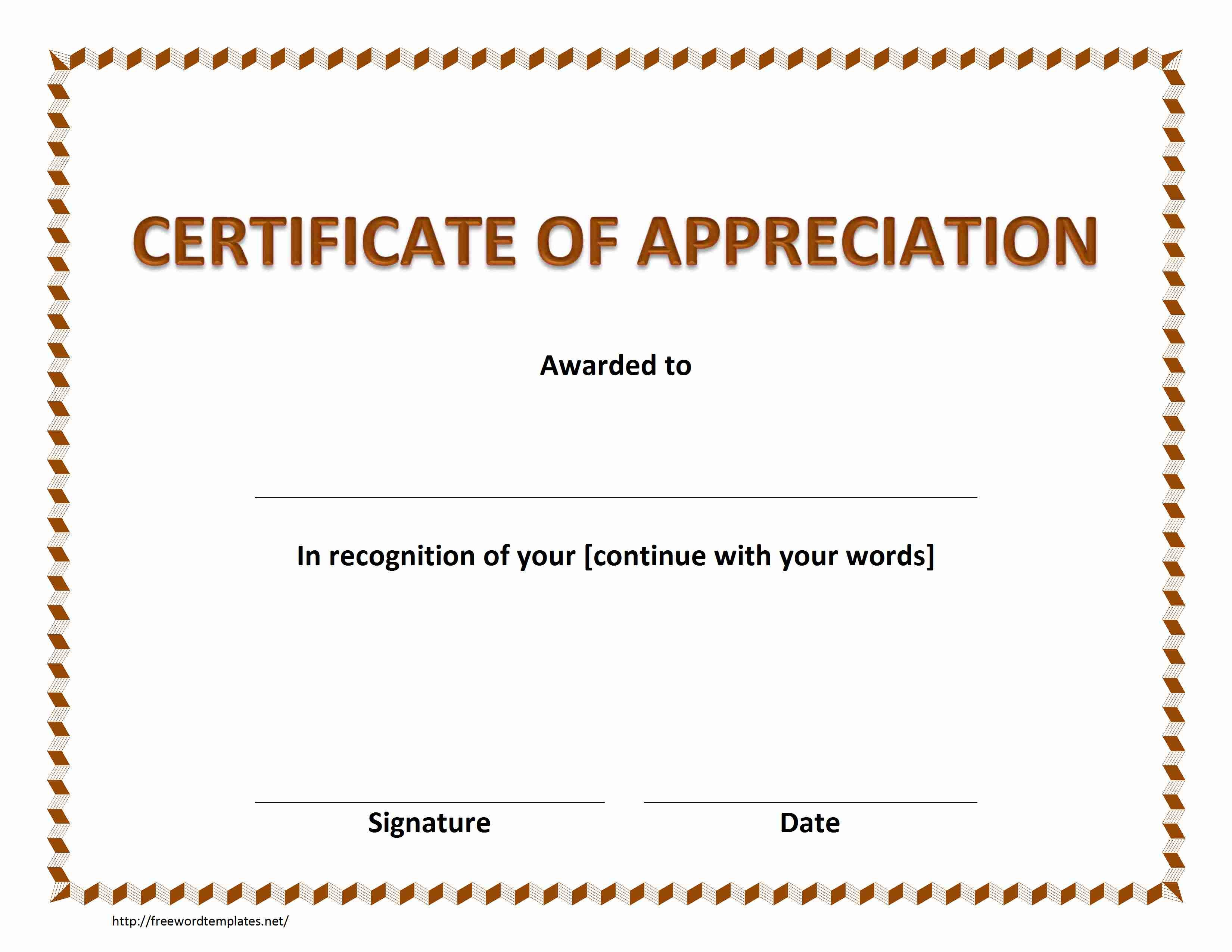 Certificate Of Recognition Word Template  – Elsik Blue Cetane With Certificate Of Recognition Word Template