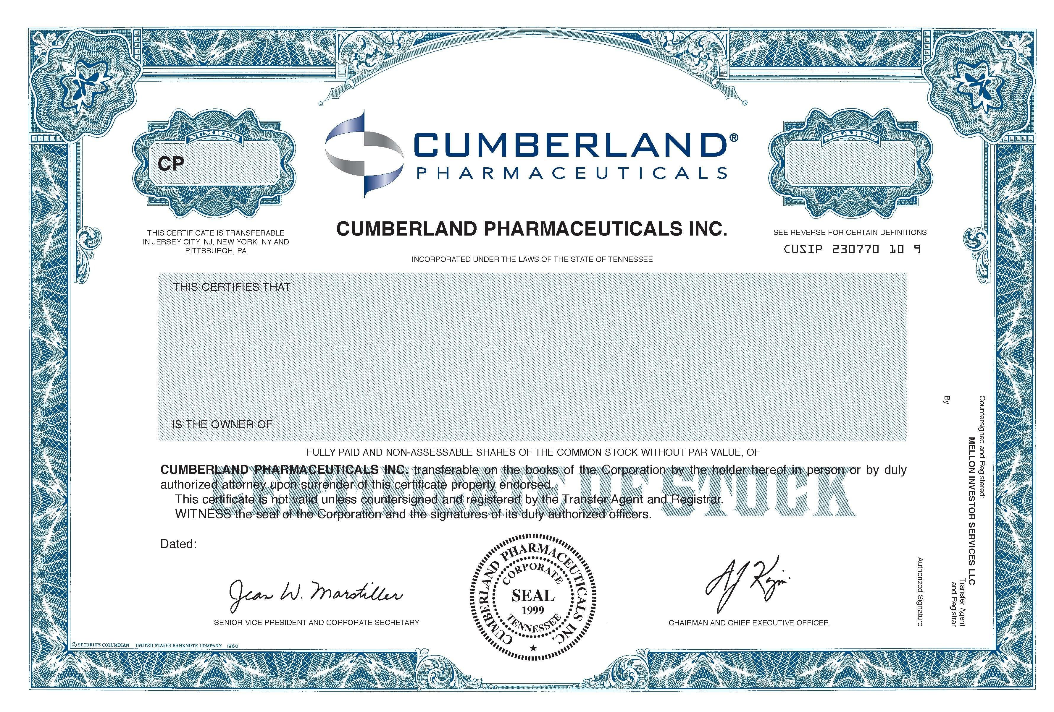 Certificate Of Shares Template Filename  Elsik Blue Cetane In Corporate Bond Certificate Template
