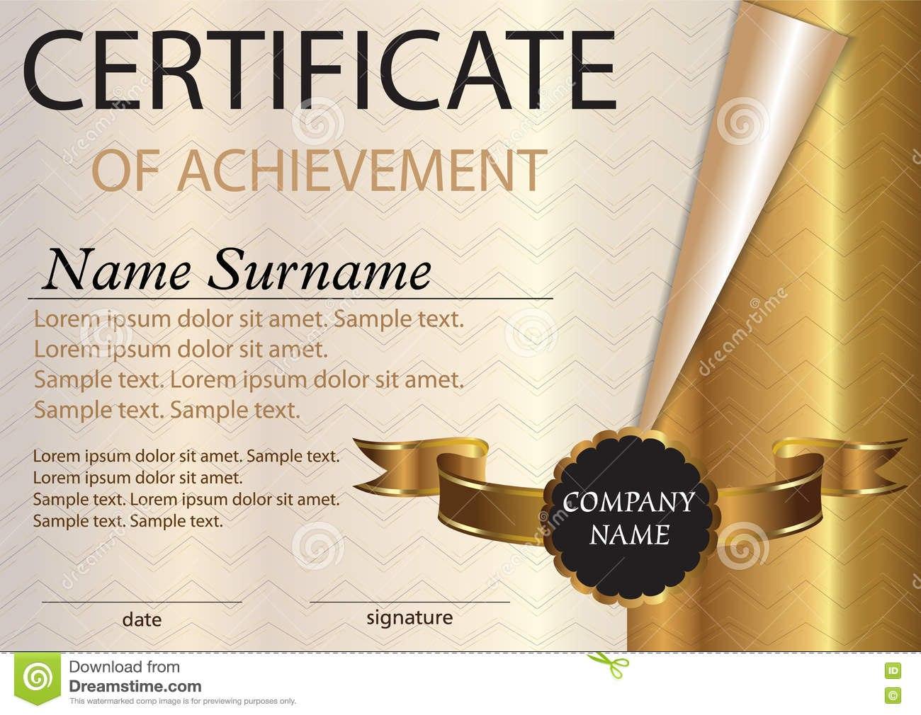 Certificate Or Diploma Template Award Winner Winning The Regarding Winner Certificate Template