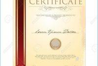 Certificate Scroll Template for Certificate Scroll Template