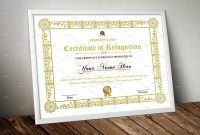 Certificate Template Archives  Sistec in Mock Certificate Template