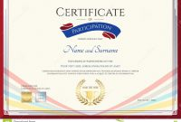 Certificate Template For Achievement Appreciation Or Participation with Participation Certificate Templates Free Download