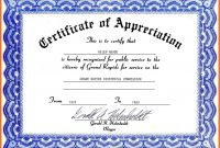Certificate Template Free Download  Certificates Templates Free inside Walking Certificate Templates