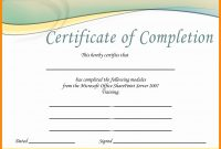 Certificate Template Free Download Microsoft Word  – Elsik Blue Cetane regarding Microsoft Office Certificate Templates Free