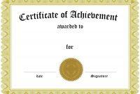 Certificate Template Free Filename  Elsik Blue Cetane with Free Printable Blank Award Certificate Templates