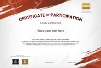 Certificate Template In Rugby Sport Theme With Border Frame with Rugby League Certificate Templates