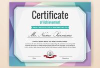 Certificate Template Powerpoint Share Christmas Gift Award Brochure pertaining to Powerpoint Certificate Templates Free Download