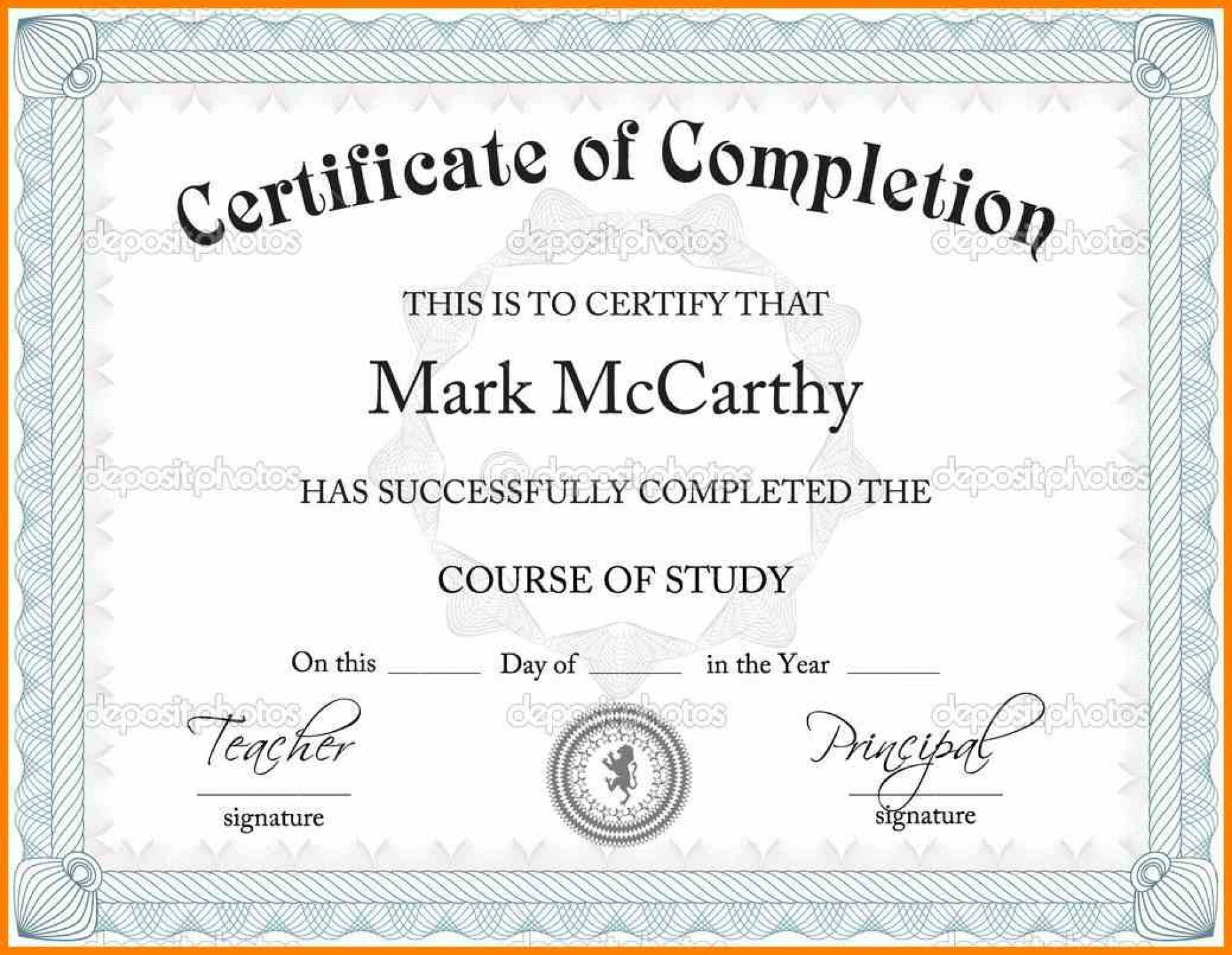 Certificate Template Powerpoint Templates Free Download Business With Regard To Powerpoint Certificate Templates Free Download