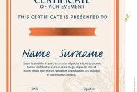 Certificate Template Size  Sansurabionetassociats inside Certificate Template Size
