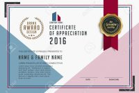 Certificate Template With Clean And Modern Patternluxury  Goldenqualification inside Qualification Certificate Template