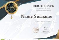 Certificate Template With Luxury Patterndiplomavector Illustration with Qualification Certificate Template