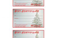 Certificate Templates Archives  Freewordtemplates throughout Free Christmas Gift Certificate Templates