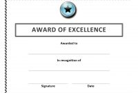 Certificate Templates For Word Or Golf Handicap With Professional Inside Award Certificate Templates Word 2007