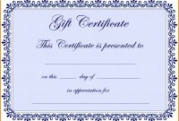 Certificate Templates In Word   Certificatetemplateword Throughout Free Certificate Templates For Word 2007