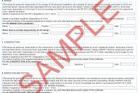 Certificates  Everycert inside Electrical Minor Works Certificate Template