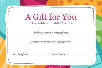 Certificates  Office inside Gift Certificate Template Publisher