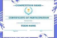 Certificates  Office pertaining to Soccer Certificate Templates For Word