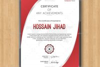 Certificatethemedevisers  Graphicriver throughout Indesign Certificate Template